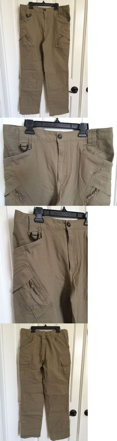 Clothing 101685: Armor *Mens Cargo Tactical Pants* Khaki Size L *Nwot* -> BUY IT NOW ONLY: $39.95 on eBay!