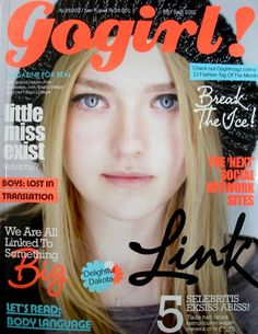 #DakotaFanning #GoGirlmagazine