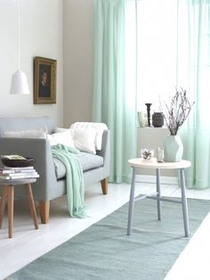Dekoration Wohnzimmer Mint