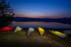 Canoe Sunset by Shawn Flanagan on 500px