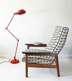 Orla armchair ~ Skinny laMinx collaboration with Dan Saks