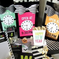 Throw the ultimate party with these quick and easy New Year's Eve Countdown Bags! They are filled with activities for each hour leading up to midnight! Perfect for families, couples, and group dates!