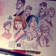 Life is Strange by Martin Abel  https://www.facebook.com/Gamers-Interest-188181998317382/
