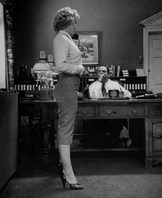 sublimemarilynmonroe:  Marilyn Monroe, in Jerry Ward's Office 1951