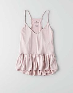 AE Lace Babydoll Tank - Tank Tops - Ideas of Tank Tops - Our AEO Soft & Sexy collection is swingy drapey & silky soft. Sweater Weather, Spring Summer Fashion, Spring Outfits, Fashion Outfits, Fashion Tips, Style Me, Cute Outfits, Style Inspiration, Shorts