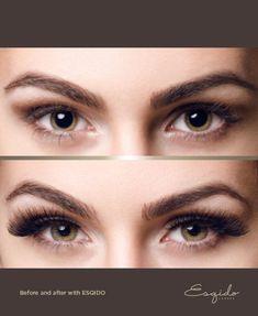 ESQIDO mink lashes - Lashmopolitan. Great for almond-shaped eyes! #makeup #lashes #gorgeous