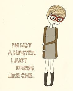I´m not a hipster