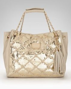 i actually have to have this. i will get this bebe sequin rope tote if it's the last thing i do.