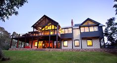 Mibremilla is a luxurious holiday home on acres of natural bushland, close to Eagle By. The perfect rural and coastal retreat sleeps 10 guests. Limestone House, Rural Retreats, Private Property, Holiday Accommodation, Western Australia, Acre, Cabin, Mansions, Luxury