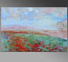 Pintura original pintura al óleo sobre lienzo por Topfineart