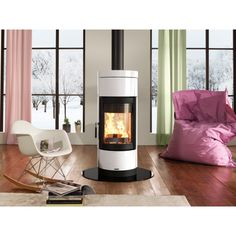 wood burner with style