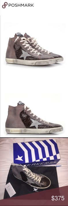 Too big and can't return. Never worn, tag attached Size 43 golden goose deluxe brand sneakers francy Golden Goose Shoes Sneakers