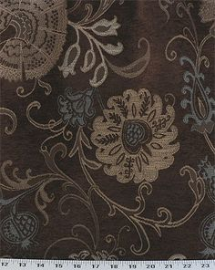 Nicole Chocolate | Online Discount Drapery Fabrics and Upholstery Fabric Superstore!