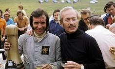 Emerson Fittipaldi and Colin Chapman