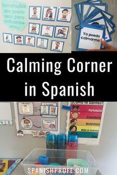 Calm down corner in