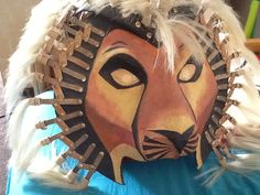 My lion king costume headdress