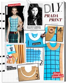 Do It Yourself: Prada Print - Celebrity Style and Fashion from WhoWhatWear