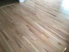 These gorgeous red oak floors were refinished by Sheaves Floors LLC with General Finishes Pro Image Wood Floor Stain Colors, Oak Wood Stain, Red Oak Stain, Wood Floor Finishes, Red Oak Floors, Rustic Wood Floors, Natural Oak Flooring, Oak Hardwood Flooring, Oak Floor Stains