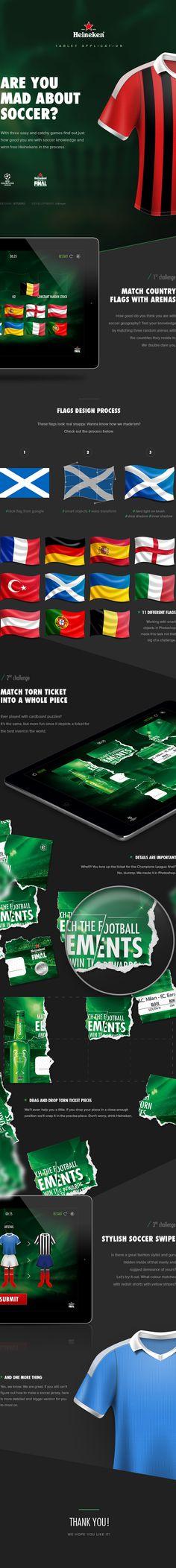 Heineken - Match app on Behance