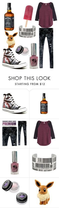 """""""lazy sunday"""" by milica-lekic ❤ liked on Polyvore featuring Converse, Été Swim, Bluemint, H&M, Homei, Ice and Anna Sui"""