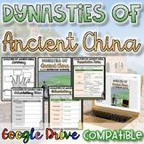 Dynasties of Ancient China {Digital AND Paper} Distance Learning Ancient China History, Basic Geography, Thanksgiving History, Process Chart, Social Studies Resources, Study History, History Teachers, Blended Learning, Ancient Civilizations