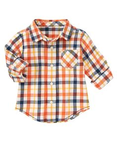 Plaid Shirt at Gymboree Collection Name: Animal Friends 2014