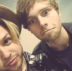 Mitchy and Luke