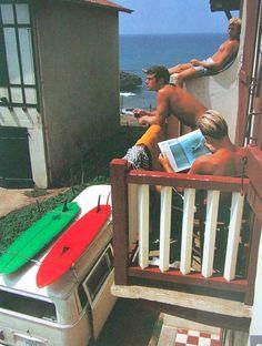 vintage surf holiday 1968 - biarritz