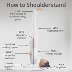 Shoulderstand 101! ✔️  What are your favorite tips for Salamba Sarvangasana?