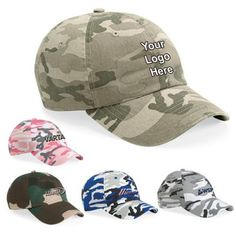 8866f5a7ee93d Custom Imprinted Valucap Camo Bio Washed Unstructured Caps