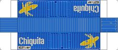 Cont45h-Chiquita.jpg (1312×558) Containers for model RR HO & N different logos available