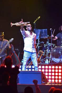 Trombone Shorty live at The Vine Showroom Hard Men, Mae West, Trombone, Trumpet, Comebacks, Showroom, Vines, October, Entertainment