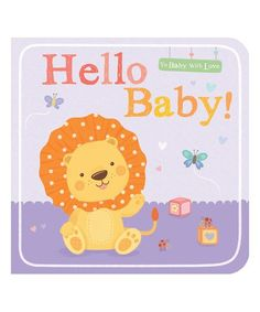 Future bookworms get introduced to morning time with this board book featuring an adorable lion friend. Black And White Books, Board Books For Babies, Toddler Books, Mini Me, Say Hello, Book Worms, Infant, Elephant, Fun