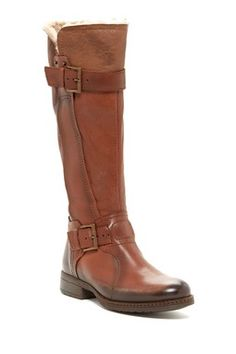 Manas Stivale Buckle Strap Boot