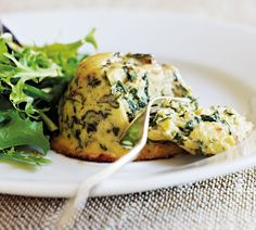 Goat Cheese and Spinach Souffles recipe from Annabel Langbein. A great choice when you're looking for an impressive vegetarian main course. Goat Milk Recipes, Vegetable Recipes, Vegetarian Recipes, Cooking Recipes, Spinach Souffle, Vegetarian Main Course, Souffle Recipes, Light Recipes, Easy Recipes