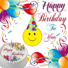 A happy birthday images is an chance when a person or corporation celebrates the jubilee of their birth. Birthdays are celebrated in numerous culture.