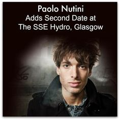 Paolo Nutini Adds Second Date at The SSE Hydro, Glasgow, on October 28! Tickets are on sale now, priced at £35 (£40 London) plus fees. Find ...