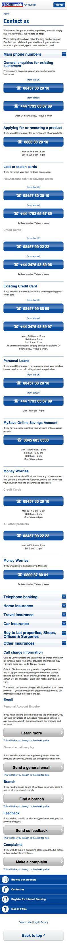 Nationwide Online Banking Screenshots Banking