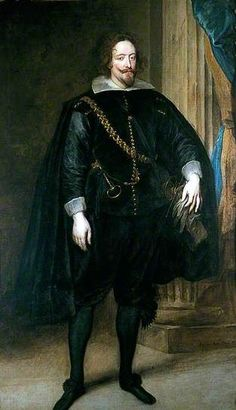 Albert de Ligne, Prince of Barbançon and Arenberg by Anthony van Dyck Date painted: 1625–1635: