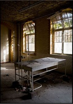 Image: Andre JoosseBeelitz-Heilstätten Morgue, near Berlin, Germany