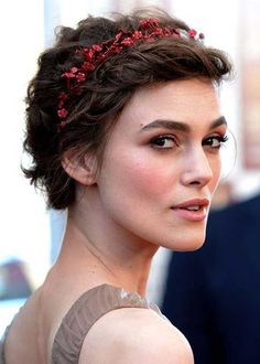 Cute short hair style - Keira Knightly