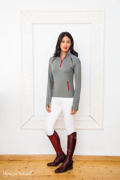 Horseware Platinum Collection A/W15: Katia technical top | Siena ladies breeches
