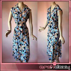 Vintage 1960s MOD Twiggy Silky Flower Power Double Collar Shirt Front Dress   http://www.ebay.co.uk/itm/Vintage-1960s-MOD-Twiggy-Silky-Flower-Power-Double-Collar-Shirt-Front-Dress-UK16-/281991167310?ssPageName=STRK:MESE:IT