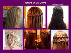 Dreadlocks, Long Hair Styles, Youtube, Beauty, Vestidos, Waterfall Plait, Cornrows, Waterfalls, Weddings
