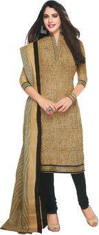 Shree Ganesh Cotton Self Design Salwar Suit Dupatta Material: Fabric
