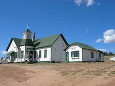 Florissant Schoolhouse by jimmywayne