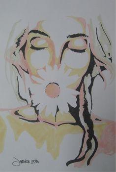Verna Marker sketch