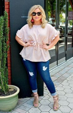 Find the trendy plus size shirts to flatter your figure. Check out our variety of styles today. The plus size boutique you're looking for is right here! Trendy Plus Size Shirts, Trendy Tops, Plus Size Tops, Plus Size Women, Simple Dresses, Plus Size Dresses, Plus Size Outfits, Plus Size Boutique, Black Romper