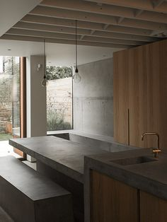Like imperfections in concrete House in Shepherd's Bush. McLaren.Excell