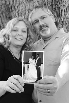 25th Wedding Anniversary Photo